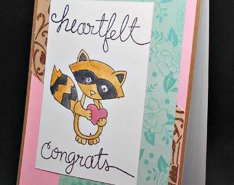 Heartfelt congrats