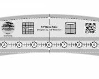 "12"" Creative Grids Wave ruler designed by Judy Niemeyer"