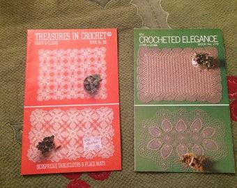 2 crochet booklets