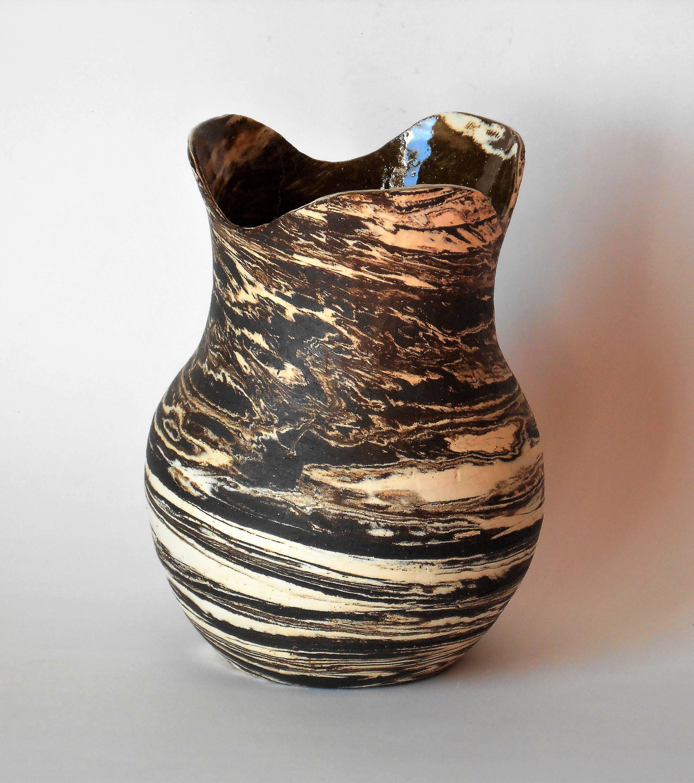 Drei Blatt Vase