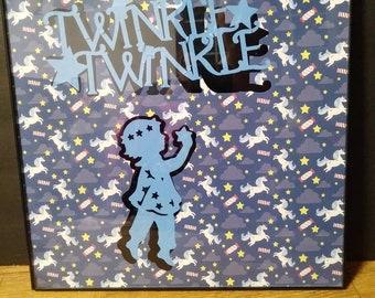 Twinkle twinkle wall decor
