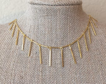 Dangle Gold Choker/Necklace