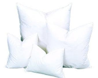 10/90 Down 12x24 Down Feather Pillow Insert, Pillow Form, Pillows