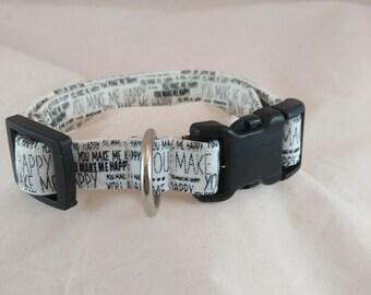 Dog or Cat Collar, Dog Collars,  Cat or Dog Lover gift, Breakaway Collar, Small Dog Collar, Adjustable Collar, Pet Collar, Collar de perro