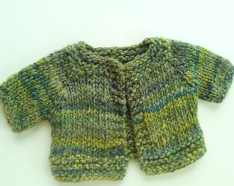 Baby Sweater: Handspun Handknit Heirloom