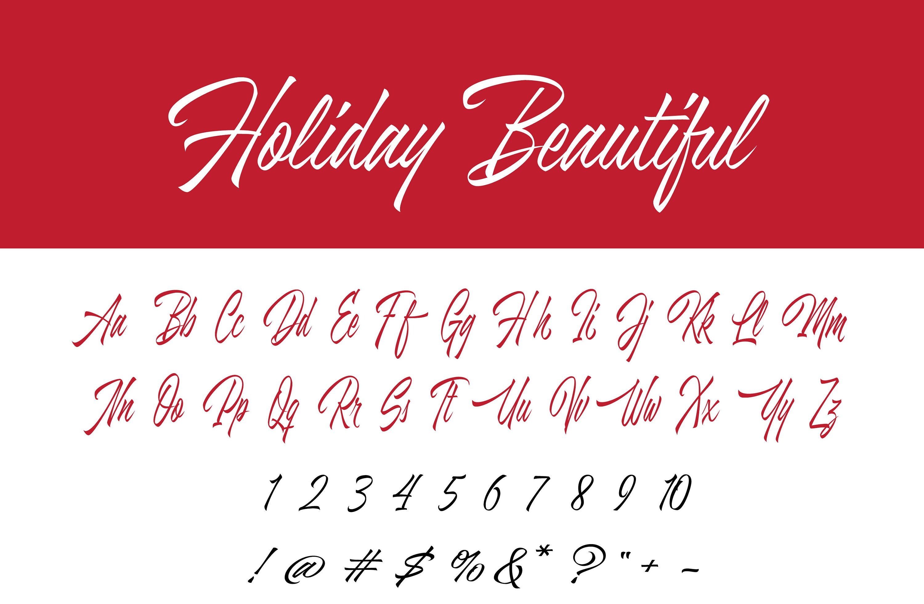 OTF Install calligraphy font hand drawn alphabet whimsical