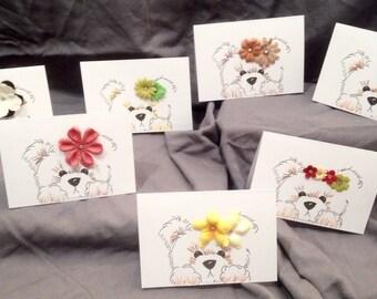 7 Count Bear Greeting Card Set