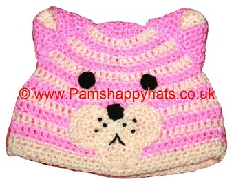 Hand Crocheted Bagpuss Hat HH029