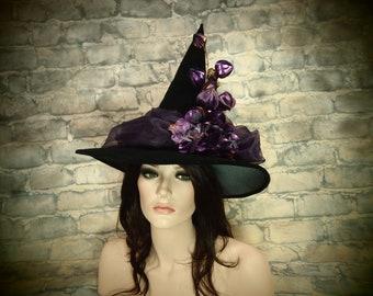 """Witch Hat """"Purple Garden"""""""