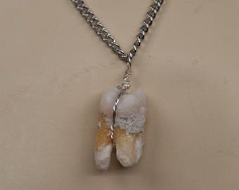 REAL Human Tooth Necklace