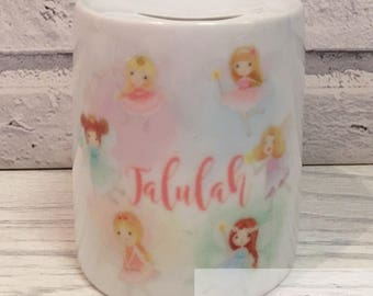 Personalised fairy money box