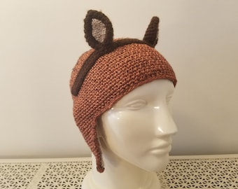 Squirrel Girl hat - adult small/children's large, ready to ship