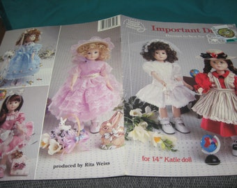 Important Days - Doll  Dresses to Sew