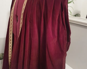 Game of Thrones Inspired Kings Robe, Game of Thrones Costume, Medieval cape,  Stage, Theater, King Joffrey, GOT, Fantasy