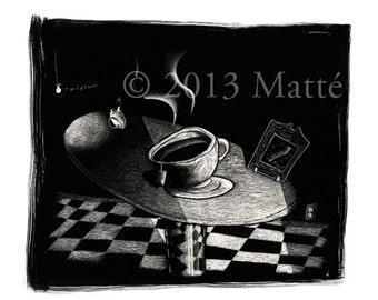 "12"" X 18"" Electrophotographic Print of 'Earl Grey'"
