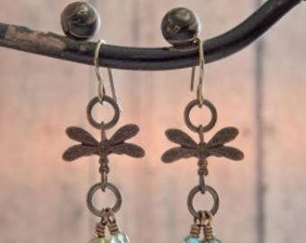 Dance of the Dragonfly Earrings