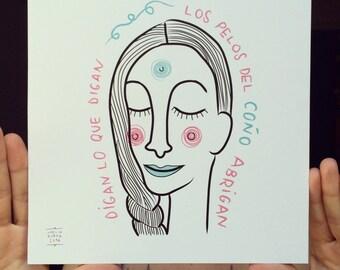 FEMINIST ILLUSTRATION (limited edition)