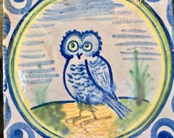 Owl tile