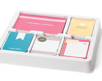 Project Life BLUSH EDITION Core Kit value for scrapbooking from Becky Hikkins
