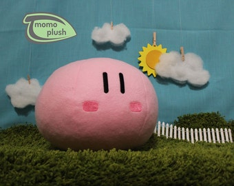 Large Clannad Blushing Dango Plushie - Dango Daikazoku Plush - Cosplay Handmade Fiber or Mix stuffing