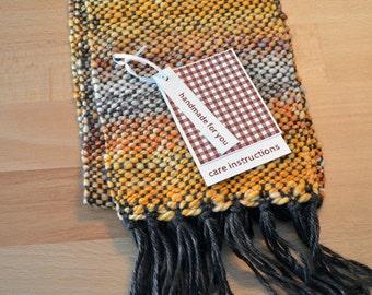 Christmas Colors, Garment Gift Tags for Weaving, Printable