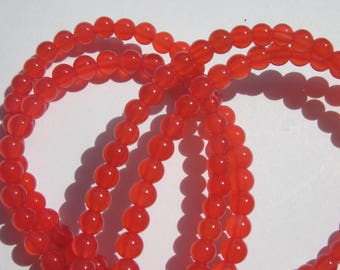 10 4 mm approximately (3-4 colored agate beads