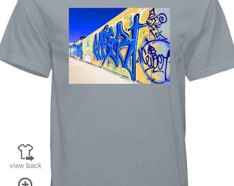 Grey Graffiti T-shirt