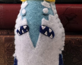 Ice King Adventure Time plushie (made to order)