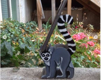 Ringtail Lemur Cell Phone Holder, Cell Phone Stand, iPhone Holder, Android Stand