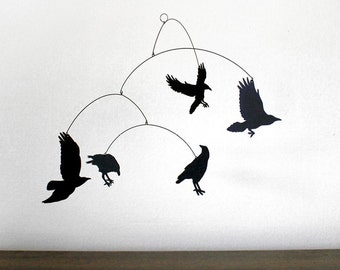 Hanging Mobile | NEVERMORE! The RAVEN mobile