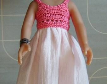 Princess pink baby doll dress