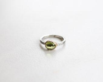 Peridot Stackable Ring