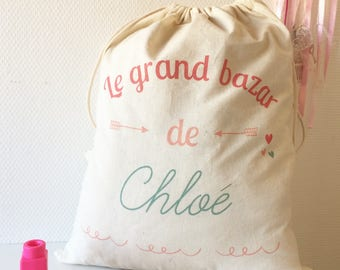 Great girl - personalized travel bag