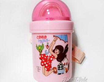 Tokimeki Tonight straw water bottle - 360ml