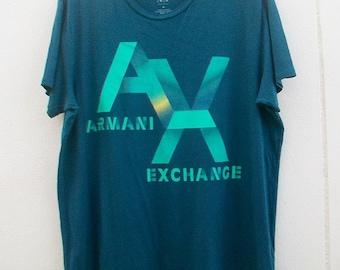 On Sale! Vintage Armani Exchange T shirt Size XL.