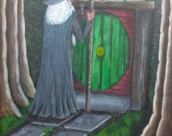 Gandalf Greeting Card III--Original Art from Middle Earth