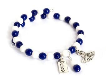 Ballet Dance Teacher Gifts - Dance Charm Bracelet - Gift for Dance Recital - Dance Jewelry for Women - Dance Team Gifts - Ballet Dancer Gift