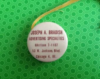 Antique Advertising Tape Measure