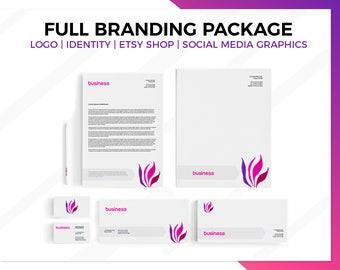 Custom Branding, Branding kit, Branding Package, Branding Logo, Photography Branding, Brand Design, Business Branding, Stationery Set, brand