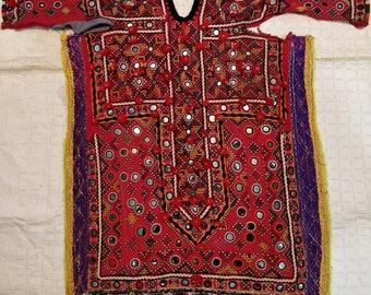 Embroidery Banjara Top Fabric, Indian Tribal Top making patch fabric