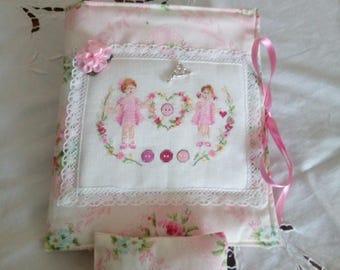 Sewing Kit + Pincushion