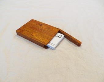 Business card case etsy wooden business card case credit card case magnetic lid colourmoves