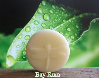 Bay Rum Organic Lotion Bar Pocket Size 2 oz