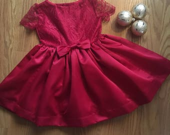 Little Lady in Red Dress