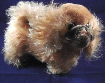 Vintage/ Antique Steiff dog Pekinese ,Germany,ca. 1960