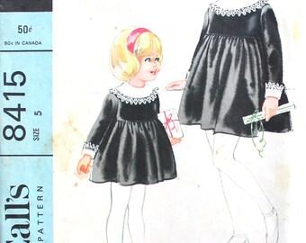 Girl's Dress Pattern designed by Helen Lee Size 5