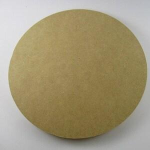 "20"" MDF Circle Wood Round Mosaic Base 1/2"" Thick"