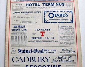London Illustrated News March 29 1930 Vintage English Magazine Egypt Lifestyle Culture History