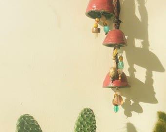 Boho Ceramic Charm