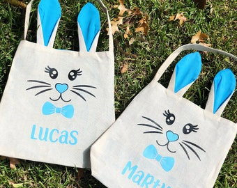 Easter gift bag etsy personalised easter bag personalised easter negle Gallery